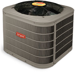 Bryant 17 SEER High Efficiency Air Conditioner Offered by Apex